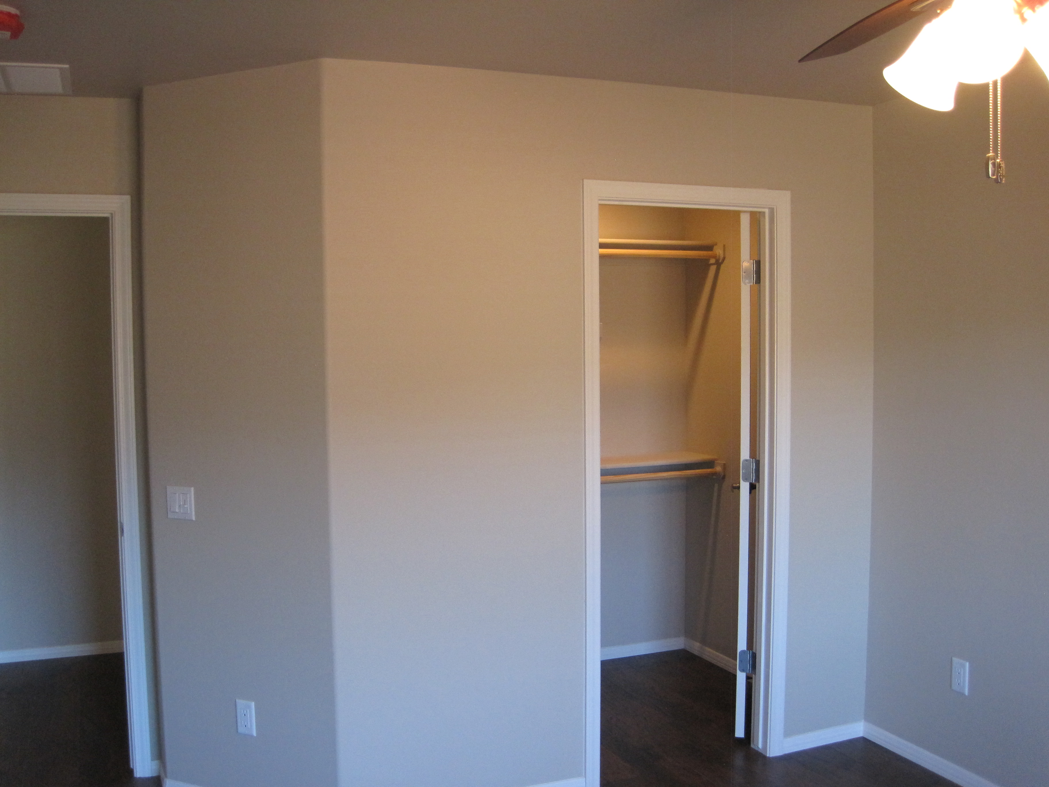 Two Bedroom Apartment Cottonwood AZ Walk in Closets