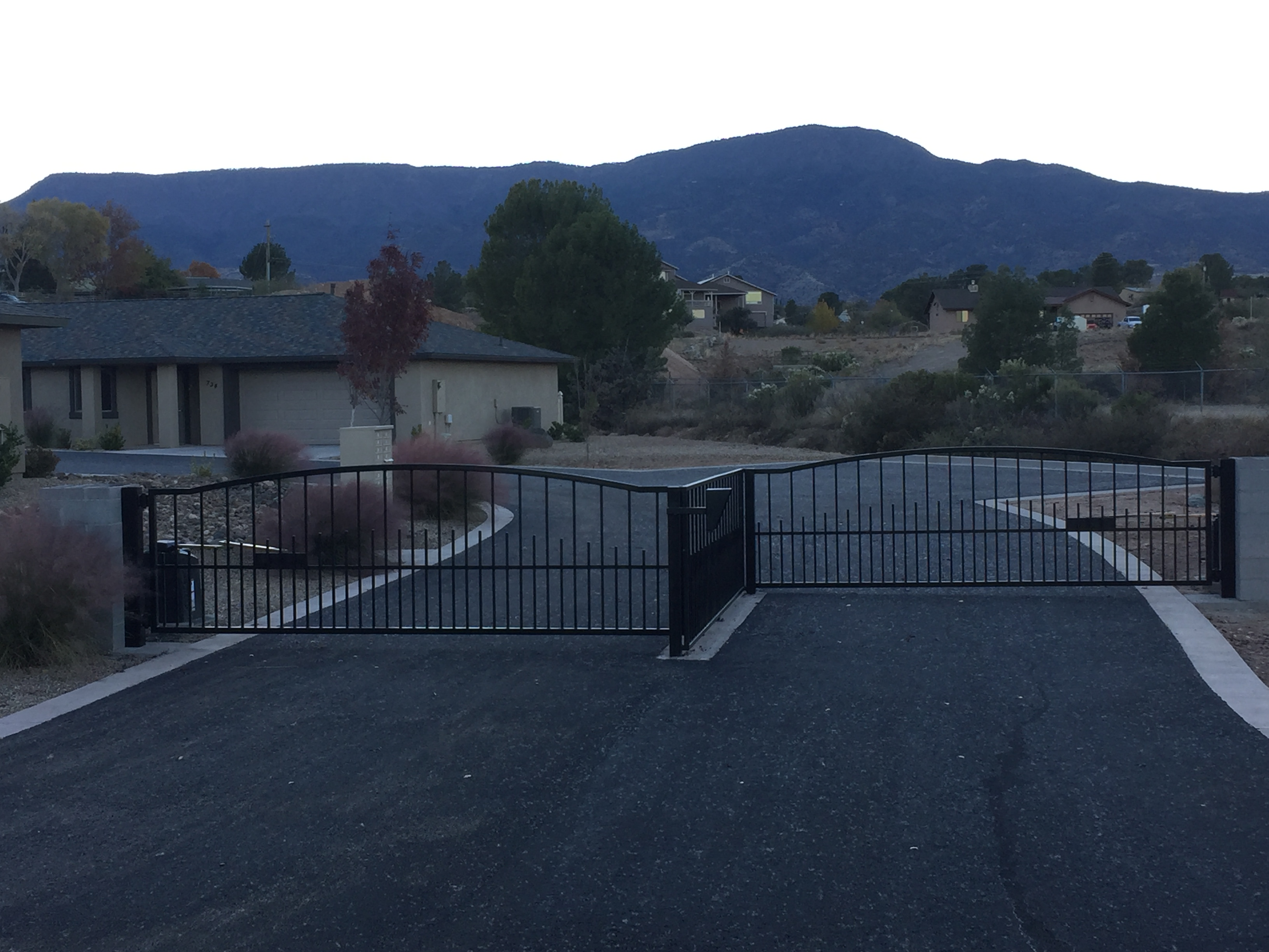 Ridgecrest Townhomes Private Gate E. Skyline Cottonwood AZ